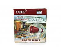 Гучномовець ручної UKC ER-22, функція запису, 15Вт, регульована гучність, мегафон, рупор