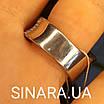 Модное кольцо Waves - Брендовое серебряное кольцо с коньячными фианитами, фото 6