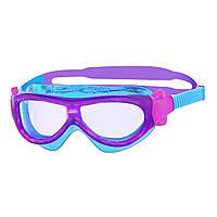 Очки-маскадля плавания Zoggs Phantom Kids Mask clear/T. purple