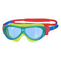 Очки-маскадля плавания Zoggs Phantom Kids Mask blue/T. blue