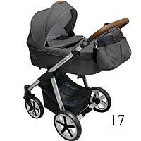 Универсальная коляска  2 в 1 Baby Design Dotty | 17 GRAPHITE