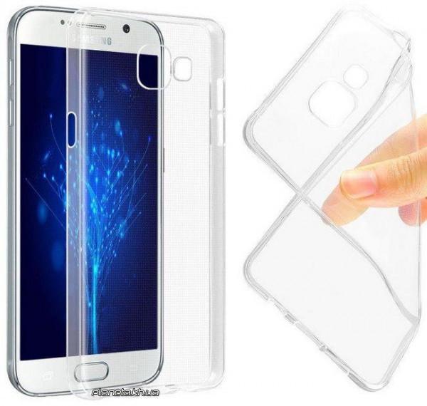 STD TPU силиконовая накладка для Samsung A510 Galaxy A5 2016 Clear (плотный, прозрачный)