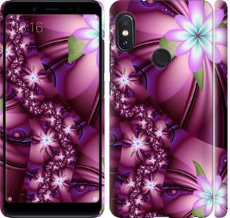 """Чехол на Redmi Note 5 Pro Цветочная мозаика """"1961c-1353-328"""""""