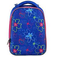 Рюкзак школьный каркасный 1 Вересня H-12 Vivid flowers (556038)