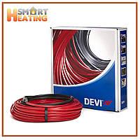 Теплый пол DEVI двухжильный кабель DEVIflex 18T 90м-11 кв.м