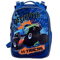 Рюкзак школьный каркасный Yes H-25 M-Trucks (556187)