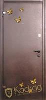 """Двери входные металлические Модель """"Бабочки"""", фото 1"""