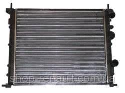 Радиатор без кондиционера до 2008 Solenza/Logan 1.4-1.6 7700836301 QSP-M