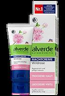 Alverde Ночной крем с Дикой Розой для сухой кожи Nachtcreme Wildrose 50ml