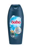 Гель для душа мужской BABA с экстрактом ежевики и имбиря 400 мл