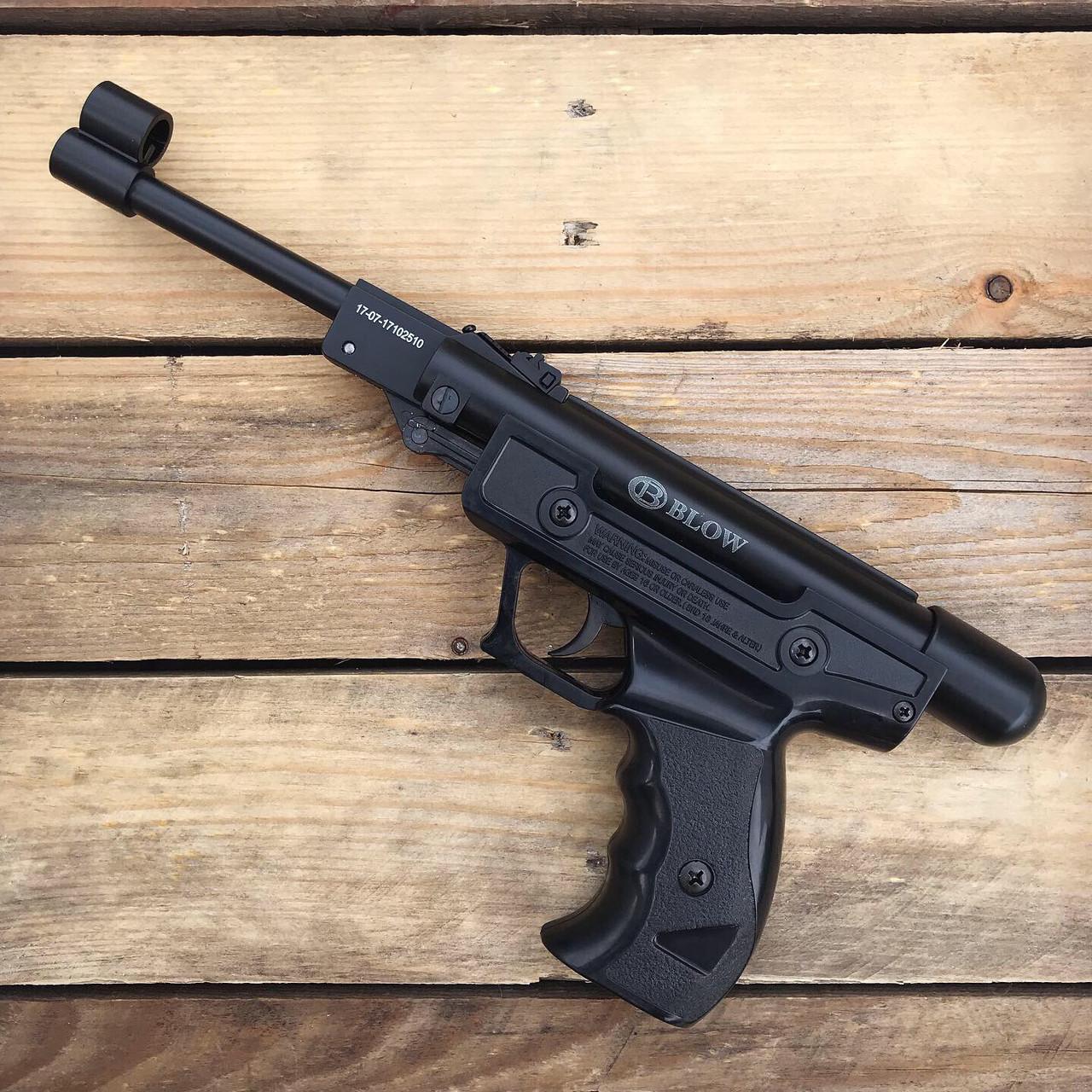Пистолет переломный пневматический Blow H01 (120 м/с)
