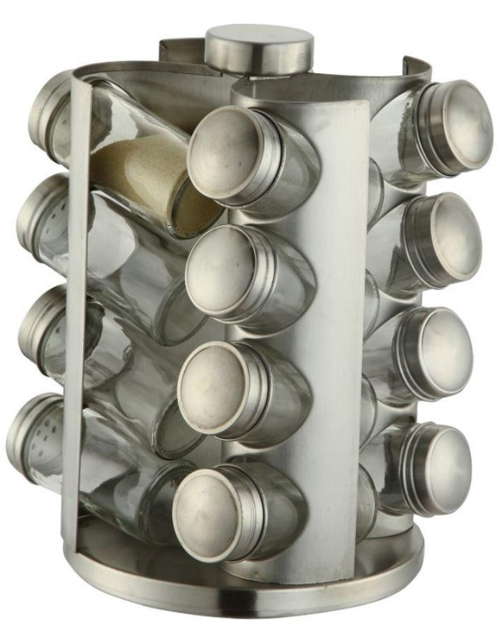 Набор для специй из нержавеющей стали 17 предметов Edenberg (EB-4022)