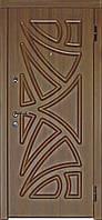 """Двери входные Модель """"Оазис"""" ( шоколадный орех), фото 1"""