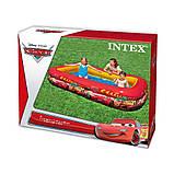 ✅Детский надувной бассейн Intex 57478 «Тачки», 262 х 175 х 56 см, фото 4