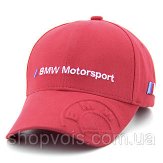 Кепка BMW А154 Красная, фото 2