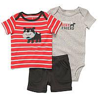 Детский летний комплект Carters для мальчика  12 месяцев