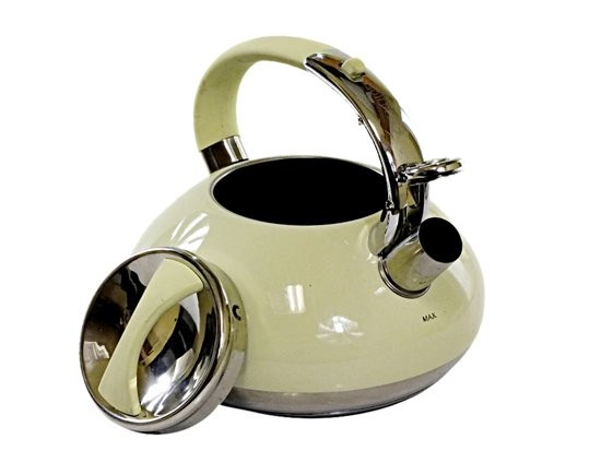 Чайник со свистком Edenberg 3.0 л Бежевый (EB-2452BG)