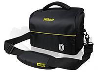 Чехол сумка Nikon Противоударная фото сумка Никон Сумка фтокамеры Удобный продуманный дизайн Код: КДН5222
