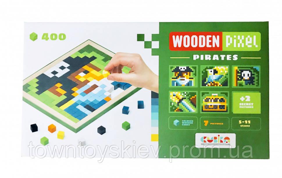 Мозаїка «Wooden pixel 5» PIRATES 14910