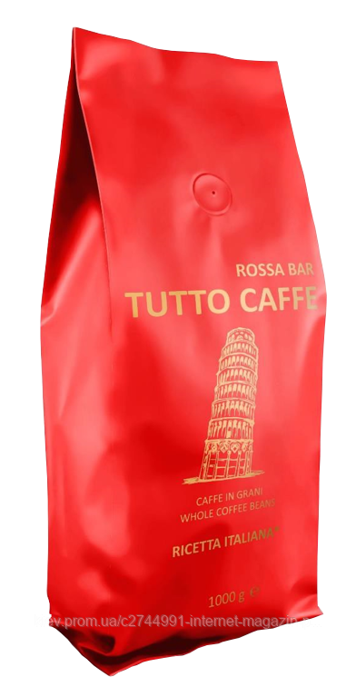 Кава зернова TUTTO CAFFE Rosso, 1, кг