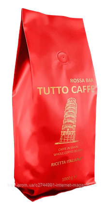 Кава зернова TUTTO CAFFE Rosso, 1, кг, фото 2