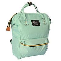 Сумка-рюкзак MK 2868, бирюзовый