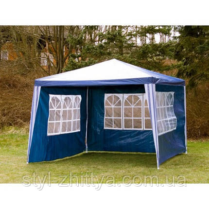 Садовий павільйон/шатер 3*3м із 4 стінками, фото 2