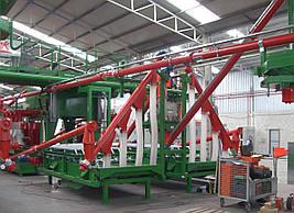 Цилиндрические шнековые конвейеры для цементной отрасли