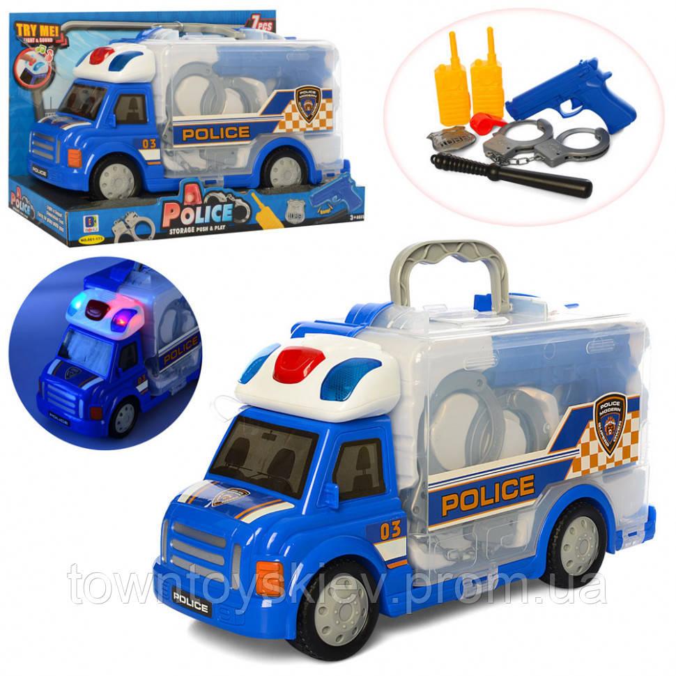 Машинка 661-173 (полиция-набор)