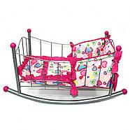 Кроватка-качалка FL989-3 в пакете, фото 2