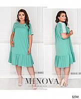 Нарядное платье    (размеры 52-60)  0186-15