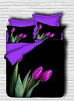 Постельное белье LIGHT HOUSE 200х220 ranforce 3D рисунок Royal Tulip