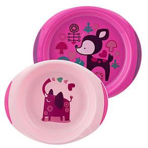 """Подарочный набор посуды """"Meal Set"""", розовый «CHICCO» (16201.10), фото 2"""