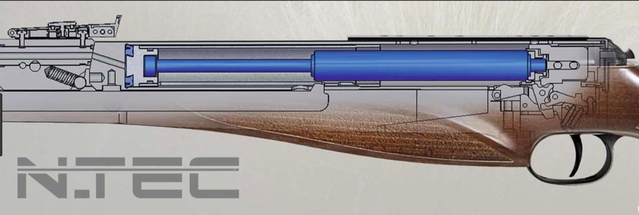 Diana AR8 N-TEC с глушителем, 4.5, пневматическая винтовка, фото 2