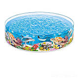 ✅Басейн дитячий надувний Intex 58472 «Океанський риф», 244 х 46 см, фото 2