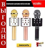 Микрофон караоке беспроводной Wster WS-858