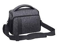 Универсальная фотосумка к фотоаппарату + дождевик Canon EOS Nikon Sony Olympus Кэнон Никон Код: КДН5225