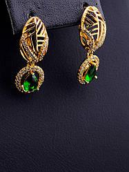 Серьги, тоговой марки xuping jewelry:  (позолота 18к)