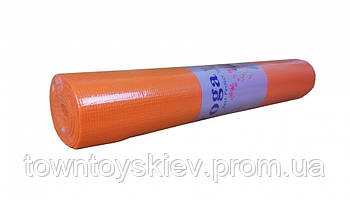 Йогамат MS1847 ПВХ ((Оранжевый))