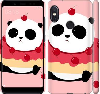 """Чехол на Redmi Note 5 Pro Панда с пончиком """"3991c-1353-328"""""""
