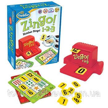 Игра Зинго 1-2-3 | ThinkFun Zingo 1-2-3 7703