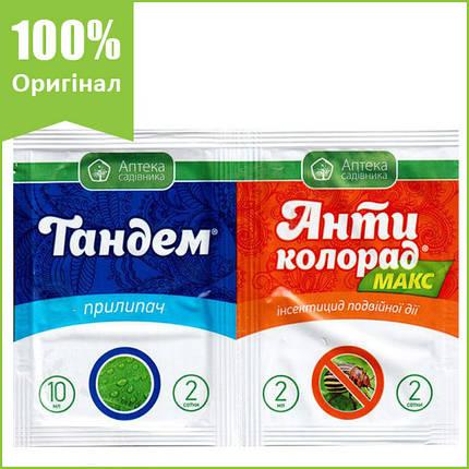 """Инсектицид """"Антиколорад макс"""" (2 мл) + """"Тандем"""" для томатов, картофеля, капусты, свеклы и т.д.,10 мл, Ukravit, фото 2"""