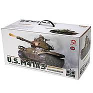 Танк HENG LONG US M41A3 Bulldog 3839-1, фото 6