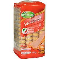 Палочки Savoiardi Савоярди Италия 400 грамм, Дамские пальчики