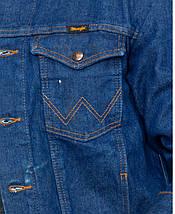 Джинсовая куртка Wrangler Cowboy Cut Unlined Denim Jacket, фото 3