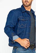 Джинсовая куртка Wrangler Cowboy Cut Unlined Denim Jacket, фото 2