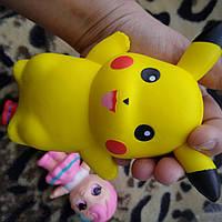 Сквиш  детская игрушка Пикачу