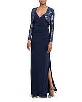 Дизайнерське синє довге  плаття LAUREN Ralph Lauren