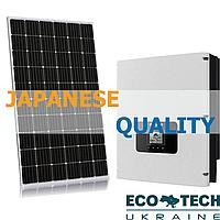 """Комплект солнечной электростанции """"Japanese Quality"""""""