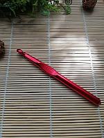 Крючок для вязания цельнометаллический размер № 10